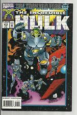 Incredible Hulk  #413 1993 Nick Fury VF