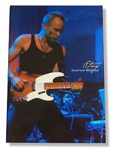 Sting 2003 Sacred Love World Tour Book New Rare Official