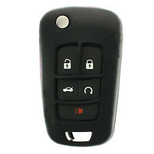Black GM Flip Key Protective Silicone Case cover