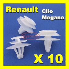 RENAULT Clio Megane Mk2 porte clips garniture moulage bande Rubstrip extérieur