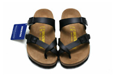 Birkenstock Mayari Birko-Flor Sandals Men's Women's Shoes Black Size 40