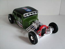 1929 FORD MODELLO A,Army Look,Hot Rod,Maisto Allstars 1:24,NUOVO,conf. orig.