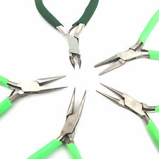 STAINLESS STEEL BEADING JEWELERY MAKING PLIERS 5PC SET