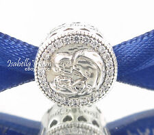 Disney SNOW WHITE 80TH ANNIVERSARY Genuine PANDORA Silver/CZ Charm-Bead NEW