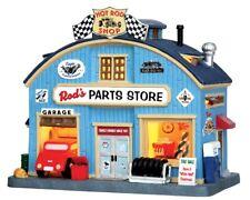 LEMAX - Rod`s Parts Store / Weihnachtsdorf Winterdorf Modellbau