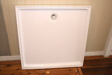 Polymarble Shower Base - 900mm x 900mm - White