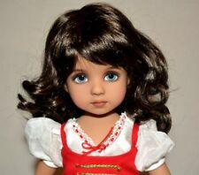 """Dianna Effner Doll 13"""" Artist Helen Skinner Extra Outfits Included Accessories"""