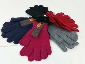 kids girls Boys Stretchy Magic Warm Winter Thermal Gloves nice and comfortable !