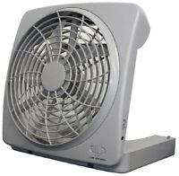 TRAGBARER VENTILATOR PORTABLE FAN MIT BATTERIEBETRIEB IDEAL FÜR BOOT CAMPING SEE