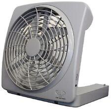 Ventilatore PORTATILE PORTABLE fan con funzionamento a batteria ideale per BARCA CAMPEGGIO MARE