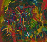 John Cherrington (1931-2015) - 1983 Oil, Vibrant Abstract Composition