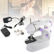 Electric Portable Mini Sewing Stitch Machine Adjustable UK Pedal Foot LED HM