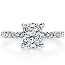 2.00ct EGL Vintage Cushion Diamond Engagement Ring H/VS2