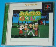 Minna No Golf - Sony Playstation - PS1 PSX - JAP Japan