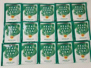 15x Lipton Real Iced Tea Tea Bags - Green Tea & Mint Flavour *NEW*