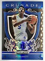 2019-20 Panini RJ Barrett Silver Prizm Blue Rookie Card RC New York Knicks 📈🔥