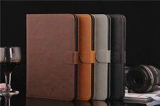 Für Apple Ipad Air 2 iPad 6 Schutz Hülle Smart Cover Back Case Etui Tasche Leder