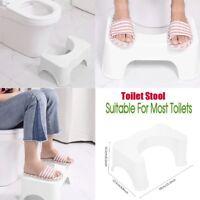 Squatty Step Stool Bathroom Potty Squat Toilet Helper Assistant Footseat