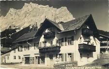 Austria Ehrald Tirol haus Alpenrose mountain backround Postcard