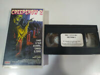 Creepshow 2 George A Romero Terror - VHS Cinta Tape Español