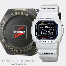 Authentic Casio G-Shock Men's G-Lide White Digital Watch GWX5600C-7