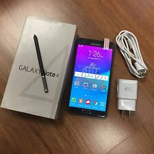 Samsung Galaxy Note 4 N910V 32GB Charcoal Black Verizon GSM Unlocked. EXCELLENT