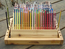 Colored Pencil Holder/Organizer; Hand-Made out of Cedar