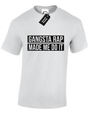Gangster Rap Made Me Do It Herren T SHIRT SWAG DOPE NWA Drake Street Fashion S-5XL