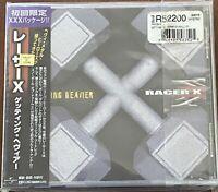 Racer X- Getting Heavier/Snowball of Doom 2-NEW!2003Jap w/OBI 3CD Ltd Ed-Gilbert
