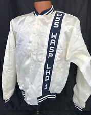 Vintage USS Wasp LHD-1 Wind Breaker Jacket