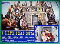 T13 Fotobusta I Pirati De Costa Lex Barker Estella Blain Livio Lorenzon 1