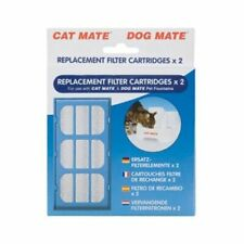 New listing Filter Replacement Cat Mate & Dog Mate Water Fountains 2 Pack Pet Mate Filters