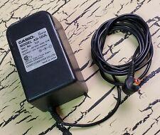 Vtg Genuine Casio AD-12UL TJ1 AC Power Adaptor Cord Keyboard 12V DC 1500MA Rare