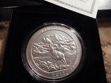 2012 P 5 oz America the Beautiful Denali NP Alaska Silver Coin w OGP & COA