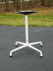 "Herman Miller Charles Eames Design Universal Dining Task Table Base 30""- 36"""