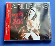 AVRIL LAVIGNE Here's To Never Growing Up 2013 China 2-Track CD Single New Sealed