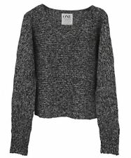 Women's Wool Blend Crewneck Jumpers/Cardigans