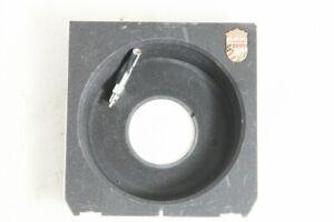 Excellent++ Linhof Recessed Lens Board 4x5 Copal 0 Release Socket #3027