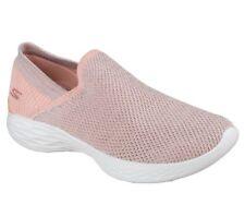 Skechers Women's Slip On Casual Comfort Walking Shoes You Rise 14958 Peach