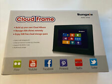 """Sungale 7"""" Cloud Frame CPF708 Wifi Bluetooth Multimedia Player SD Card"""