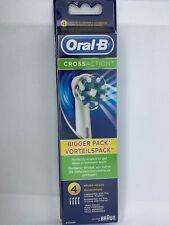Oral-B CrossAction brossettes X4 Electrique Têtes de brosse à dents
