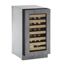 "U2218Wcint01A-Uline 18"" Wine Cooler, Panel Ready Left Hinge"