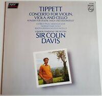 Tippett Concerto for Violin, Viola and Cello Sir Colin Davis Philips Digital