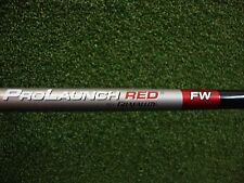 New Grafalloy Prolaunch Red Stiff Graphite Fairway Wood Shaft No.3+,3,4,5,7,9