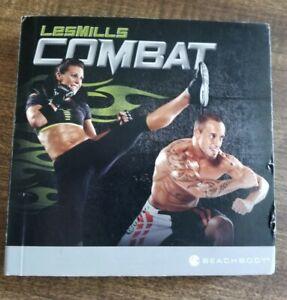 Les Mills Combat Home Fitness Workouts-8 Disc Set