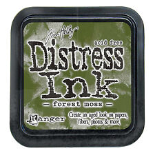 Tim Holtz - Distress Ink Pad - Full Size - Forest Moss - Green