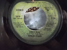 RINGO STARR ON APPLE RECORDS W/ APPLE SLEEVE CALL ME/ONLY YOU