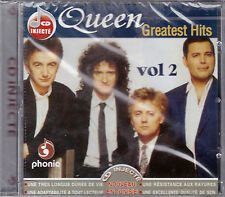 CD 18T QUEEN (FREDDIE MERCURY) GREATEST HITS IMPORT TUNISIE NEUF SCELLE