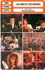 FICHE CINEMA : LES UNS ET LES AUTRES - Hossein,Lelouch 1981 Bolero:Dance of Life