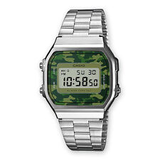Casio military camouflage watch green ARMY retro vintage NEW SEASON montre steel